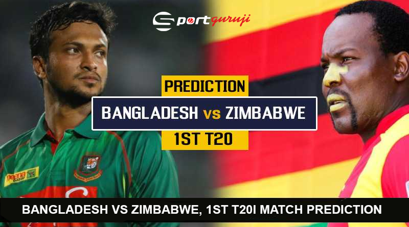 Bangladesh vs Zimbabwe, 1st T20I match Prediction