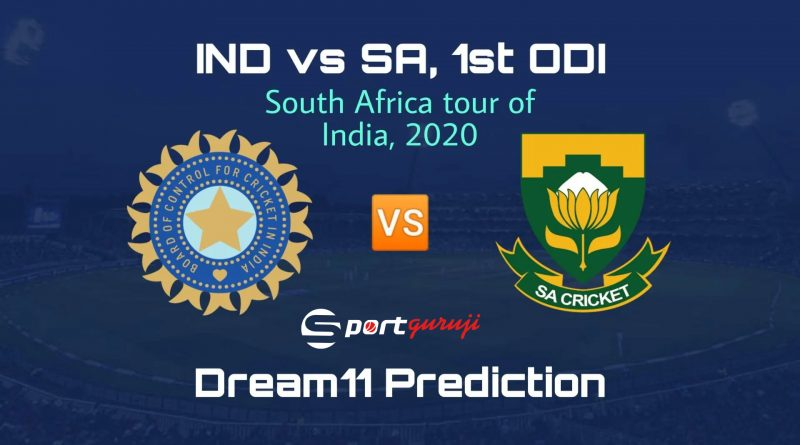 South Africa tour of India, 2020
